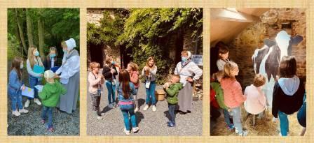 Visites sensorielles au Moulin de Marcy